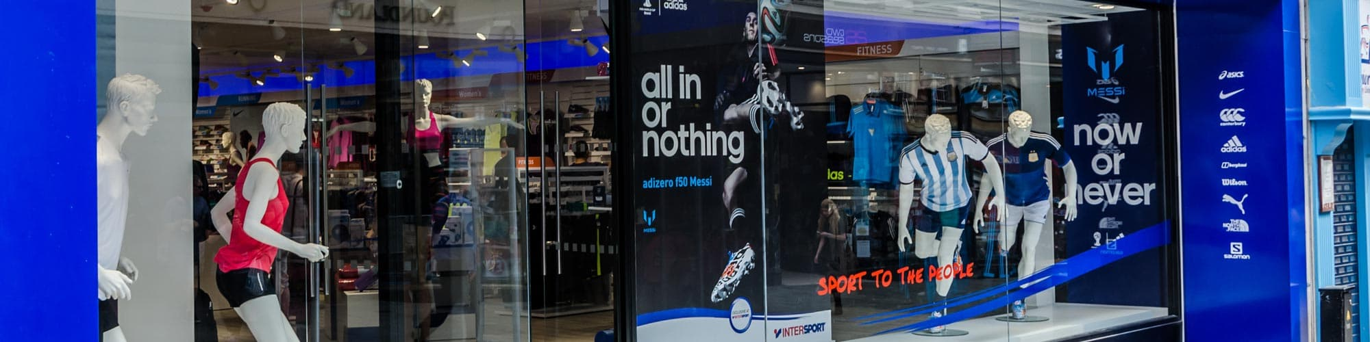 INTERSPORT's strength comes from the combined membership of independent sports retailers